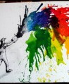 Melted Crayon Art (2)