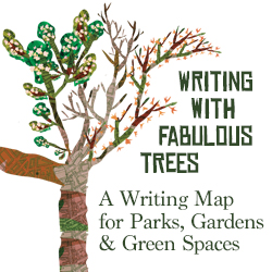 JH Writing With Fabulous Trees Banner